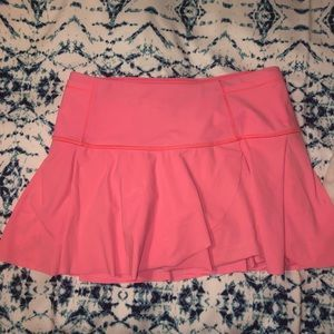 Lululemon coral skirt